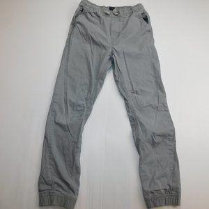 GAP Girls XL Gray Pullon woven jogger pant